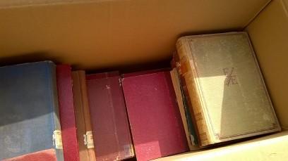Caja de libros