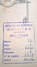 Números de catalogación