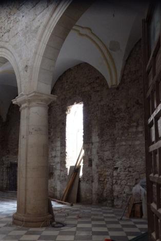 Muros lado de la epístola