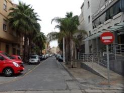 Prohibido, calle Fernández Benítez