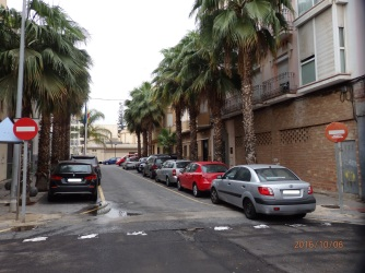 Prohibido, calle General Aizpuru