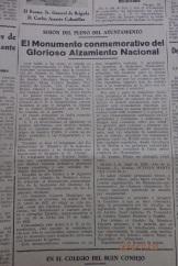 Decreto monumento, año 1940