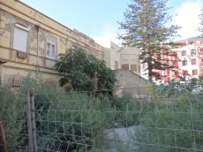 Edificio en abandono