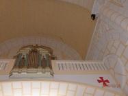 Sagrado Corazón, grietas bajo la torre