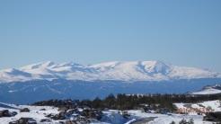 Sierra Nevada desde Calar Alto