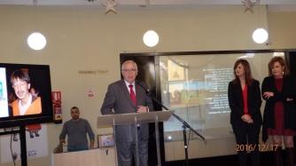 Juan José Imbroda en su intervención