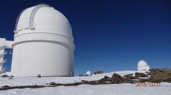 Cúpulas Observatorio Astronómicode Calar Alto