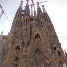 Sagrada Familia de Gaudí, fachada principal