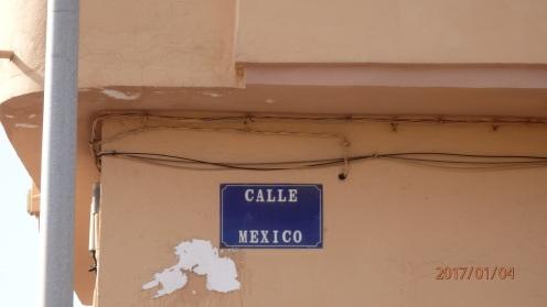 Calle, México, 1 placa