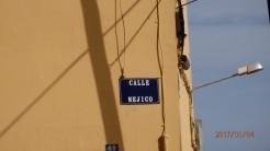 Calle Méjico, 4 placas