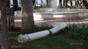 Parque Jerez, columna uno
