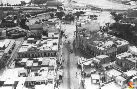 Plaza de España y centro