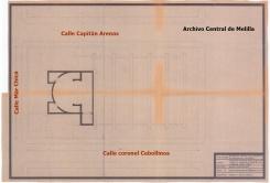 Iglesia del Real, plano y situación