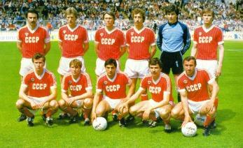 Selección Unión Soviética