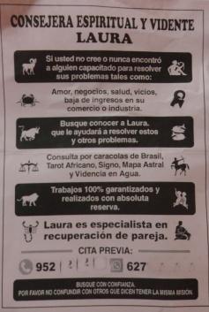 Vidente Laura en Melilla