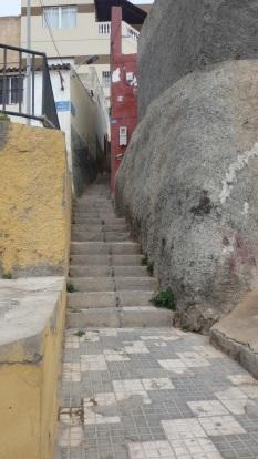 Acceso calle Río Duero
