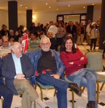 Mariano Remartinez, Toni Roderic y Yonaida Sel-lam