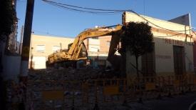 Excavadora, calle Carlos de Lagándara