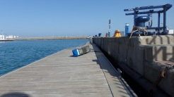 Puerto Noray, pantalán flotante