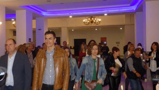 Pedro Sánchez y Gloria Rojas