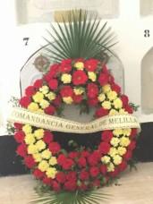 Corona de honores para Sanjurjo