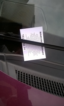 Propaganda en coches