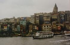 Barrio de Gálata y Torre