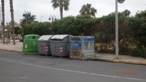 Barrera de contenedores