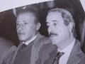 Paolo Borsellino y Giovanni Falcone
