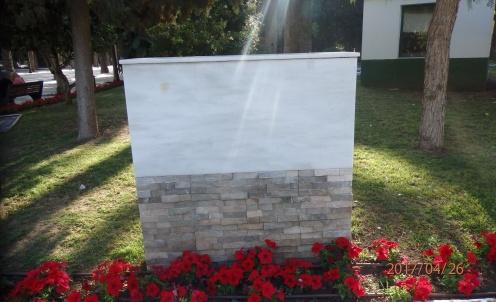 Placa renovación del Parque