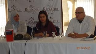 Sirin Adlbi con Yonaida Sel-lam y Nordin Ahmed de Intercultura