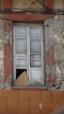 Ventana de acceso al edificio