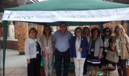 Ana Rodríguez, Vicario Arciprestal y voluntarias