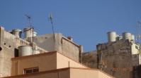 Bidones y antenas