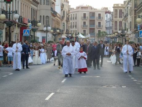 Procesión del Corpus en Melilla
