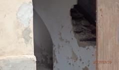 Interior arruinado