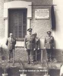 Falsa placa de Franco