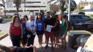 Reivindicando en Melilla