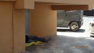 Dormitorio improvisado
