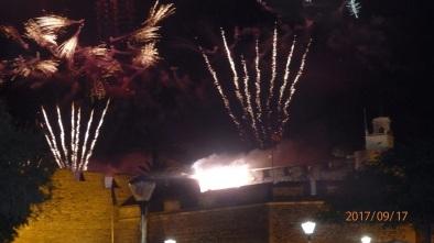 Fuego en Melilla