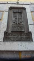 Llanes, placa conmemorativa