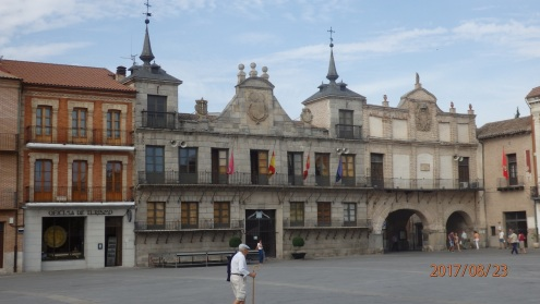 Medina del Campo, plaza mayor