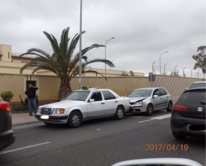 Accidente en abril