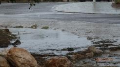 Vierte aguas atorado, otonda de Trara