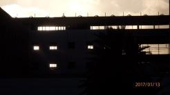 Hospital desde el Barrio Industrial
