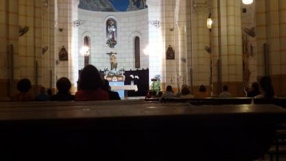 Templo arciprestal, misa católica