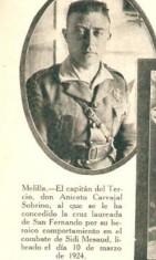 Aniceto Carvajal Sobrino, capitán laureado