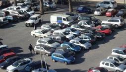 Atrapados en el aparcamiento