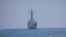 Barcos de guerra en Melilla