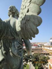 Cementerio de Melilla, ángel de la Victoria